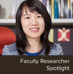 Faculty Researcher Spotlight on Joyce Wang