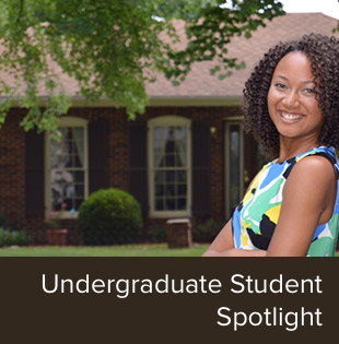 Undergraduate Student Spotlight on Trina Thomas