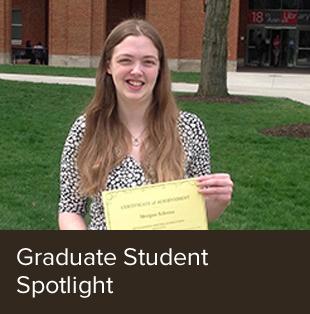 Spotlight on graduate students.