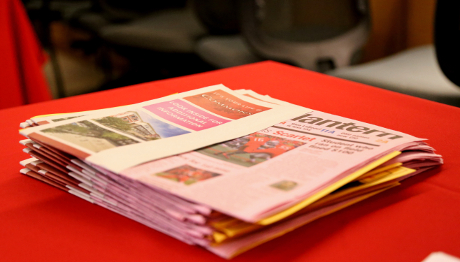 Stack of The Lantern Newspapers