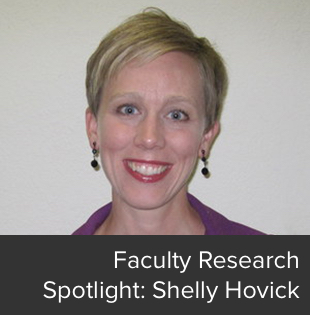 Faculty Research Spotlight: Shelly Hovick