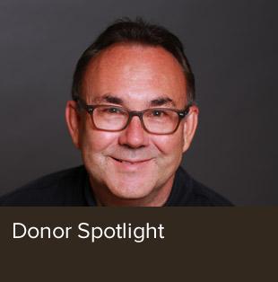 Donor spotlight on John Oller.