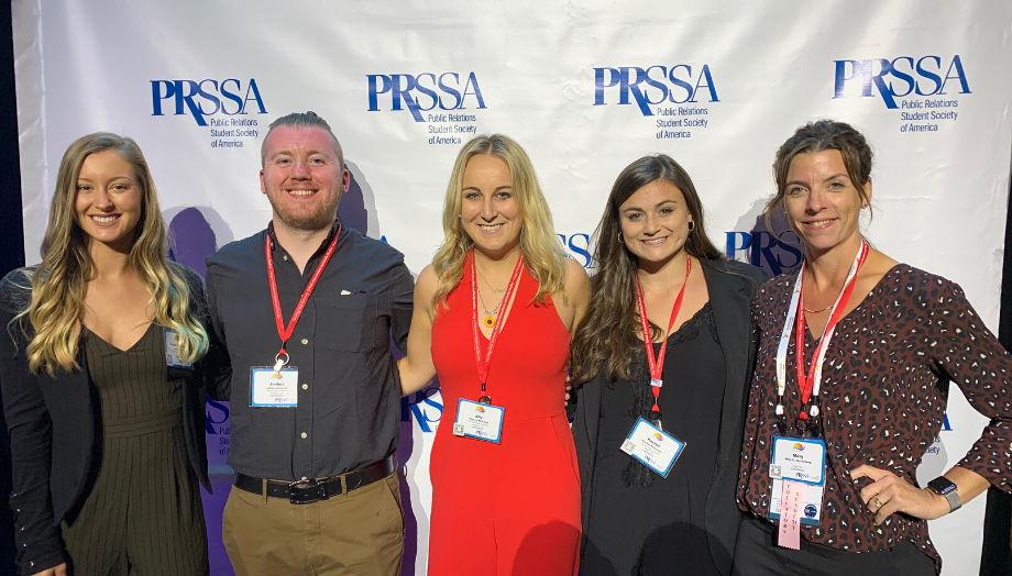 Students in PRSSA at International Conference in San Diego