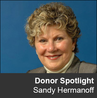Donor Spotlight Sandy Hermanoff