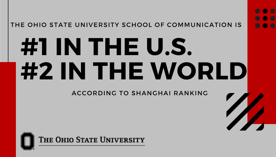 School of Comm Ranked #1 and #2