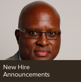 New hire announcements.