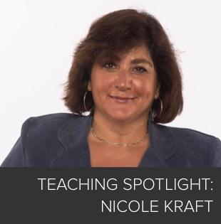 Teaching Spotlight: Nicole Kraft