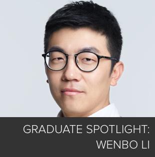 Graduate Spotlight: Wenbo Li