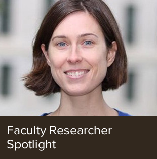 Faculty spotlight on Jesse Fox.