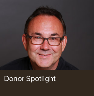 Donor spotlight on John Oller.